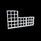 WEAR Modular Falrendszer