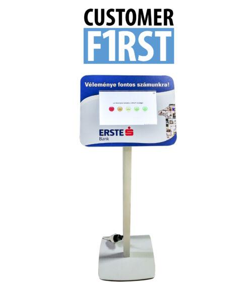 CUSTOMER FIRST Elégedettségmérő rendszer