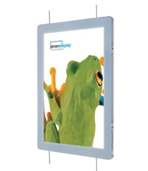 Függeszthető LED-es Plakátzseb (kétoldalas)