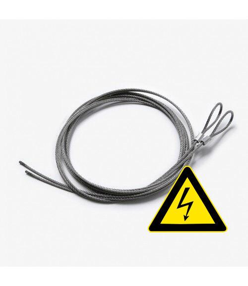 Belfüggesztő Kábel Szett LED-es Poszterzsebhez