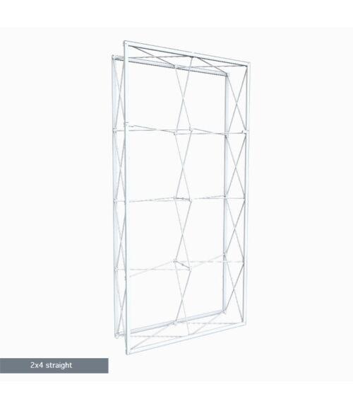 2x4 MODULAR Egyenes Pop-Up Hátfal (150x300cm)