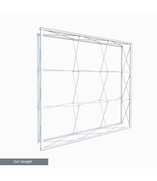 3x3 MODULAR Egyenes Pop-Up Hátfal (225x225cm)