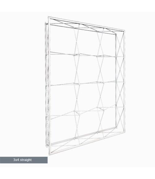 3x4 MODULAR Egyenes Pop-Up Hátfal (225x300cm)