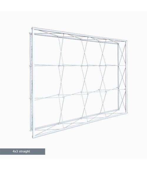 4x3 MODULAR Egyenes Pop-Up Hátfal (300x225cm)