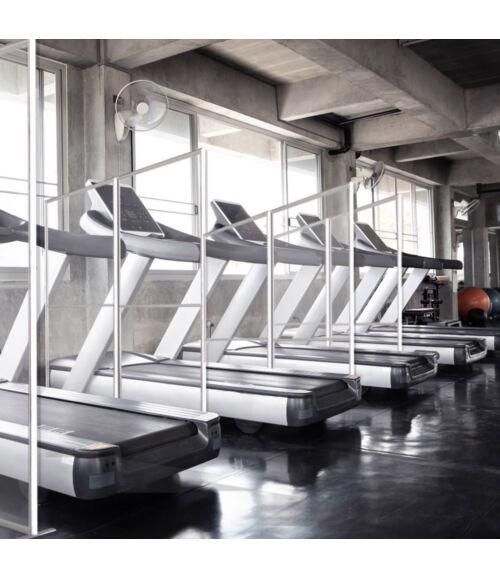 Izolációs fal fitness és edzőtermekbe