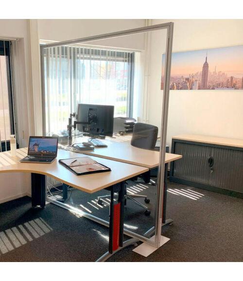 Izolációs válaszfal irodákba (200 cm x 200 cm)