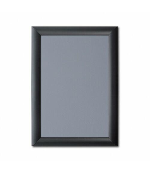 Plakátkeret 25 mm - Fekete