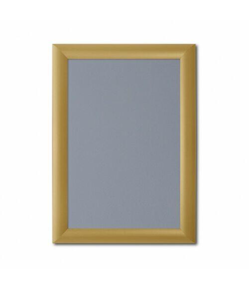 Plakátkeret 25 mm - Arany színű profil